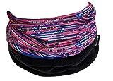 Hilltop Polar Halstuch, Multifunktionstuch, Kopftuch, Schlauchschal, Schal mit Fleece, Cooles Design in Trendfarben, für Damen und Herren, Farbe:Pink Purple - 15