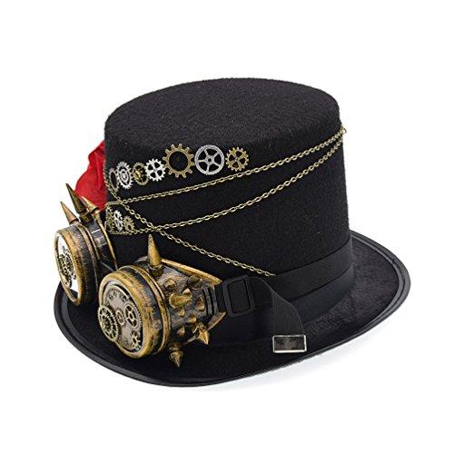steampunk womens hats