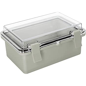 100x68x50mm Waterproof Cover Clear Electronic Project Box Enclosure Case EO