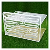 JKFZD Sistema de alimentación de Nido Transparente Habitat Granja Castillo Castillo Caja de Ecología Juguete Educativo (Size : 26x19x17cm)
