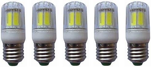 SGJFZD E27 LED Light Bulbs 5W (40W Halogen Equivalent) 400LM E27 Base Warm White/Cool White Bulbs for Home Lighting (Pack ...