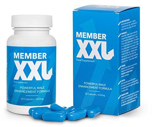 2. MEMBER XXL Premium potenciador y ampliador del pene