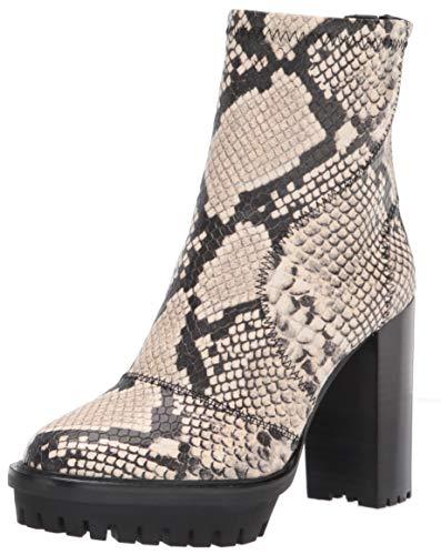 Vince Camuto Women's Fendels Fashion Boot, Black/White, 11