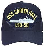 USS Carter Hall LSD-50 Ships Ball Cap Navy...