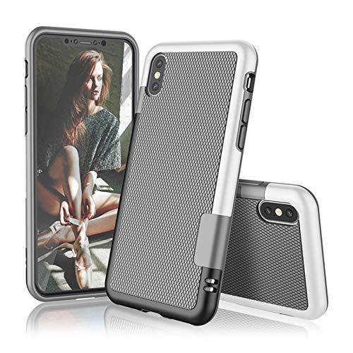 KAZOKUYiZi Ultra Delgado híbrido Antideslizante a Prueba de Golpes de Caja del teléfono for el iPhone X XS 11 12 Mini Cubierta de Silicona Pro XR MAX 6 7 8 6S Plus de Goma Suave