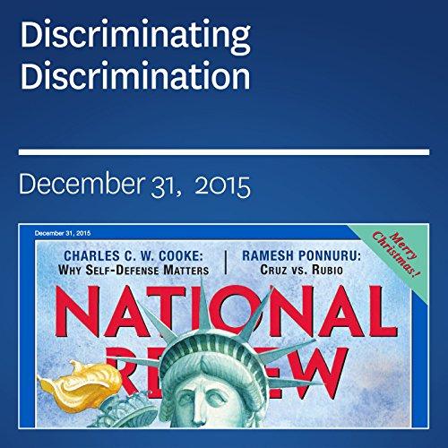 Discriminating Discrimination audiobook cover art