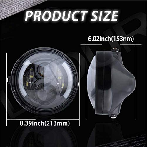 7 inch round headlight bucket _image4