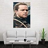 WHMQJQ Stern Poster und Drucke Matt Damon Schauspieler