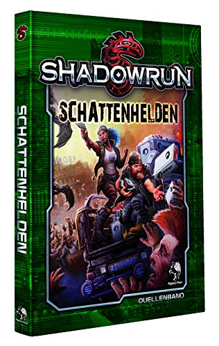 Pegasus Spiele Shadowrun: Schattenhelden (Hardcover)