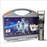 新しい電気ペットヘアトリマー、お金のための例外的なペットクリッパー、コードレスペットクリッパー、安全、防水、USB充電