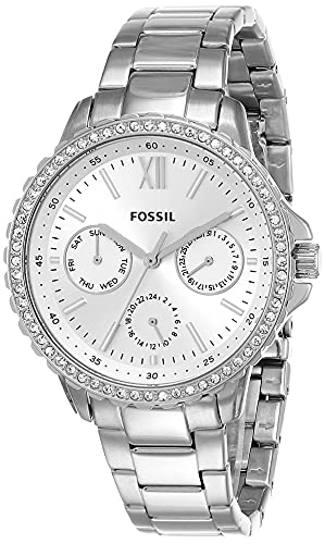 Fossil Analog Silver Dial Women's Watch-ES4783