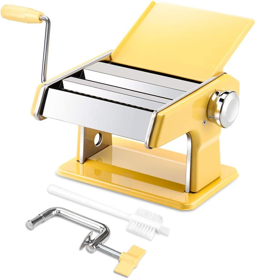 elabo Pasta Machine - Stainless 7 Animer and price revision Adj Ranking TOP5 Roller Steel Maker