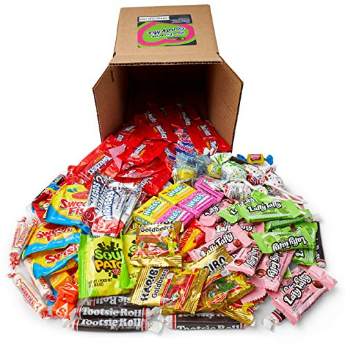 Holiday Favorite Candy Mix Stocking Stuffer - 3 Pounds of Skittles, Sour Patch, Swedish Fish, Starburst, Airheads, & More by Snackadilly (3)