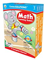 Math Learning Games 1: Ready, Set, Skip Count! \ Space Shapes \ Submarine Subtraction \ Ride Along With Addition, Four Complete Games
