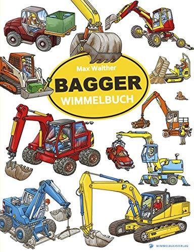 Bagger Wimmelbuch: ab 2 Jahre