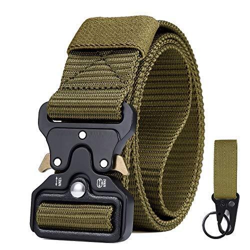 CLIPSEAM Cinturón Táctico 12o cm adaptable , Cinturón Militar de Nailon de...
