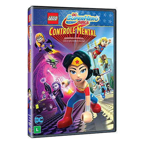Lego DC Super Hero Girls Controle Mental [DVD]