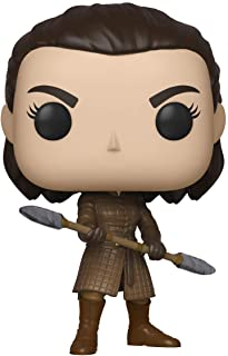 Funko Pop! TV: Game of Thrones - Arya with Two Headed Spear, Multicolor