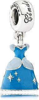 Pandora Women Silver Bead Charm - 791578ENMX