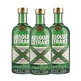 Absolut Extrakt Vodka 700 ML Paquete 3 Botellas