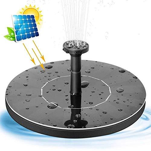 ERT Bird Solar De La Bomba De La Fuente con Patas 1.4W Baño del Pájaro Fuente De Energía Solar De La Bomba De La Fuente De Agua For El Baño del Pájaro Estanque De Jardín Piscina Al Aire Libre