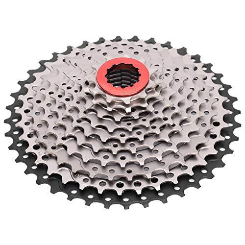 Rueda Libre para Bicicleta Rueda Libre para Bicicleta Volante de 10 velocidades 11-40T Piñón de Cassette para Bicicleta Rueda Libre para Bicicleta de montaña Accesorio de Repuesto para Ciclismo