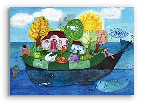 Wandbild von Eva-Maria Ott-Heidmann - WUNSCHTRAUM vom schnurverlag