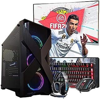"""Pc Gamer Completo Intel i5 4º Ger. GTX 1050TI 4GB 8GB Hd 1TB Wi-fi 24"""""""