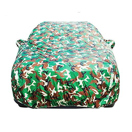 Cubierta de coches SUV AUTO SEDAN HATCHBACK UV anti solación resistente a la nieve Protección resistente a la nieve Cubierta impermeable Todo el tiempo Adecuado ( Color Name : 2M , Size : Camouflage )