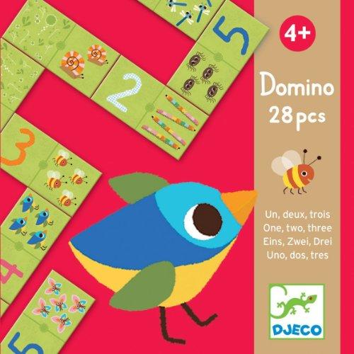 Djeco - Educativos Domino uno, Dos, Tres