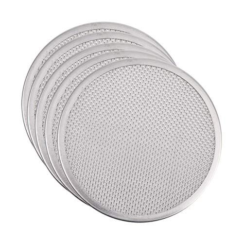 Topbathy - Tamiz de acero inoxidable para fabricación de semillas de brotes en casa, cocina y cocina (5 cccs, 304, 86 mm), color plateado