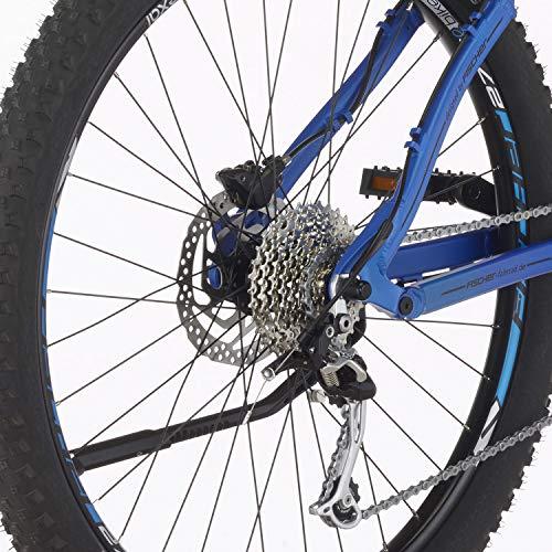 E-MTB FISCHER  MTB EM 18621 (2019) blau matt E-Mountainbike Bild 4*