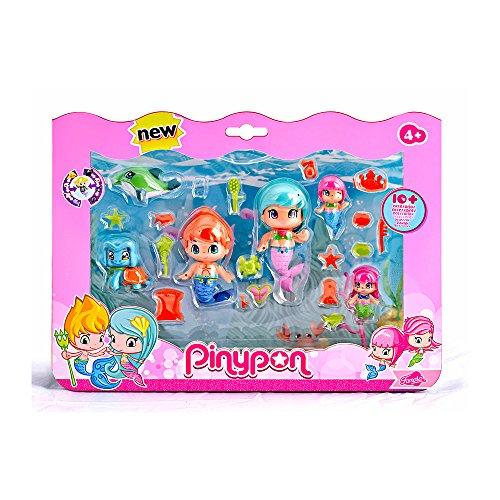 Pinypon Sirenitas pack grande de 6 figuras (Famosa 700013480