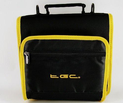New Jet Negro & Glow Amarillo y perfumado Bolsa de Transporte de Doble Compartimento para la Tablet ASUS Transformer Pad TF300T–Funda y Accesorios