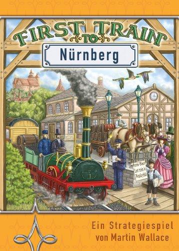 Argentum 0011 First Train to Nürnberg - Juego de Estrategia (a Partir de 12 años, de 2 a 4 Jugadores, Contenido en alemán e inglés)