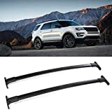 OCPTY Cross Bars Roof Racks Cargo Carrier Fit for 2016-2019 Ford Explorer Sport Utility 4-Door Roof Rack Crossbars