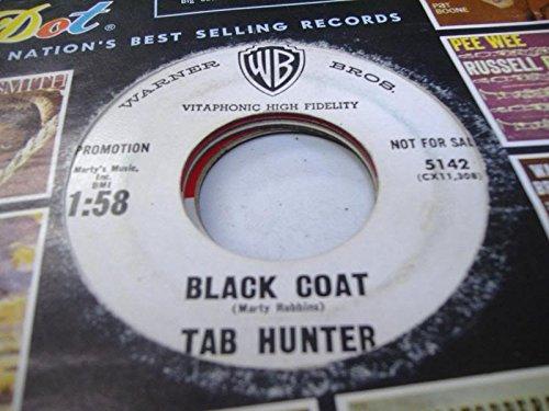 TAB HUNTER 45 RPM Black Coat / I Gotta Have My Baby Back