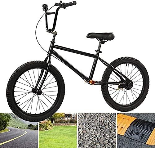 Balance Bike,Rowerek biegowy Rower bilans treningowy, 20 cali Brak pedału czarnego metalowego roweru z podnóżkiem/hamulce na 10 lat w górę Dużych dzieci