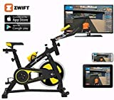 Zoom IMG-2 nero sports bluetooth cyclette aerobica
