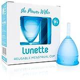 Lunette Menstruationstasse - Blau - Model 1 für leichte Blutung – (EN Version)
