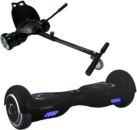 smartGyro X1s Black + Go Kart Pack Hoverboard - (Ruedas 6,5 ...