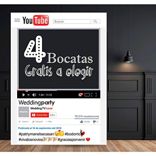 setecientosgramos Photocall Youtube   80x110   Ventana Youtube   Marco Youtube   PhotoBooth Youtube (Cartón 4mm)