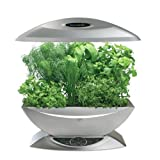 AeroGarden Classic 7-Pod with Gourmet Herb Seed Kit, Silver