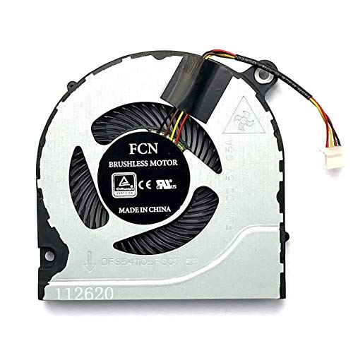 Replacement CPU Cooling Fan for ACER Predator Helios 300 G3-571 G3-572 Nitro5 AN515 AN515-51 52 AN515-41 Series Laptop CPU Cooling Fan DFS541105FC0T