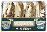 Haeberlein Metzger Mini-Elisenlebkuchen glasiert, 15er Pack (15 x 50 g)