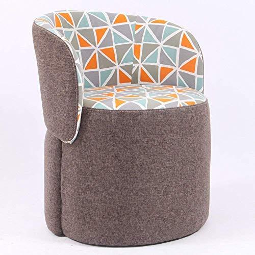 Haushaltsprodukte Fußschemel Massivholz Modern Fashion Home Hocker Sofa Hocker Comfort Round Fabric (Edition: Style C)
