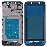 un known Reemplazo Herramientas de experimentos de Prueba Frente Vivienda LCD Placa Bisel del capítulo for Huawei Y5 Prime (2018) Accesorio (Color : Black)