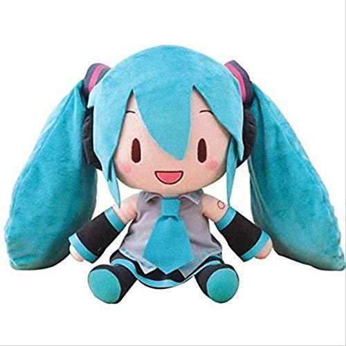Oymyia 30CM Sega Hatsune Miku Jumbo Stuffed Plush Toy Doll Birthday Gift for Friends