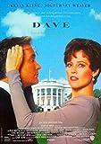 Dave - Kevin Kline - Sigourney Weaver - Filmposter A3