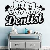 yaonuli Dentista Personalizado decoración del hogar Apliques Sala de Estar Dormitorio Fondo Pared Arte Apliques 45x69cm